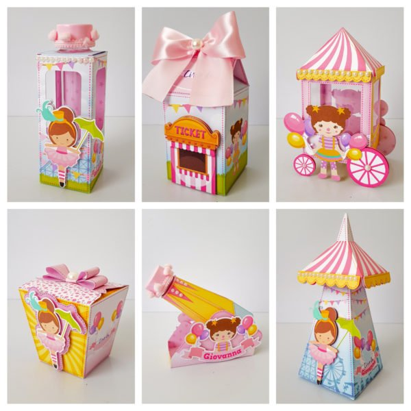 Kit Festa Infantil Circo Rosa